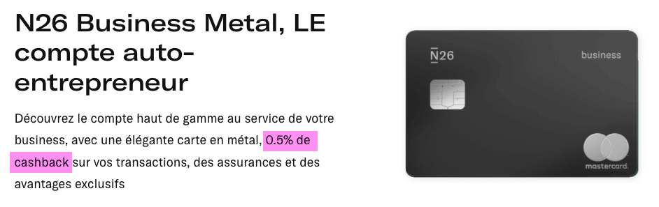 Cashback-N26-Metal-Business